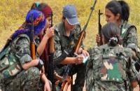 Στις Κούρδισες γυναίκες του Κομπάνι.